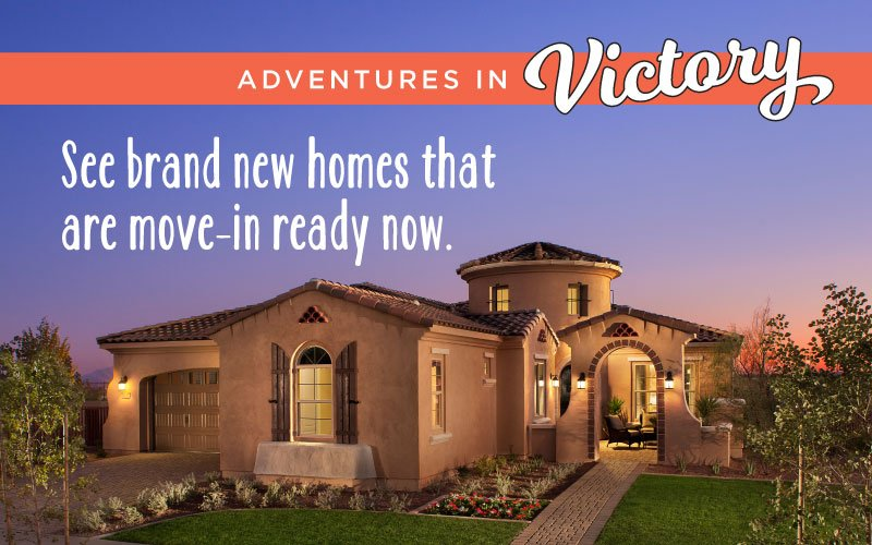 Move-in Ready Homes Available In Victory At Verrado